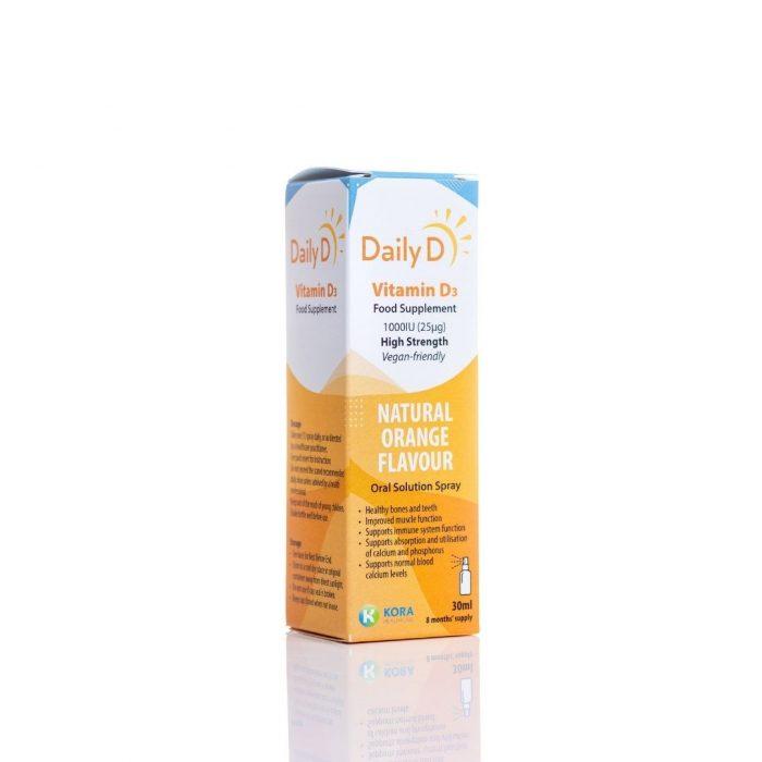 DailyD Spray 1000IU Vegan